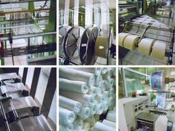Комплект оборудования для полного цикла производства тканных