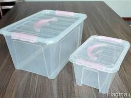 Контейнеры пластиковые 60л 60*43*33мм