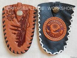Кожаные сувениры для Малайзии.