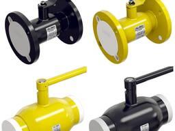 Краны шаровые стальные фланцевые для воды и газа ALSO