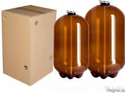 Квас в бутылках и одноразовых ПЭТ-кегах по 30 литров