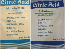 ️ Лимонная кислота моногидрат; ️Лимонная кислота Ангидрид