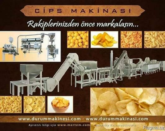 Линия для производства чипсов