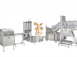 Линия предназначена для перефасовки сливочного масла