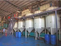 Оборудование для рафинации подсолнечного, растительного масла, рапсового, хлопкового масла
