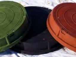 Люки полимерные (пластиковые) в широком ассортименте