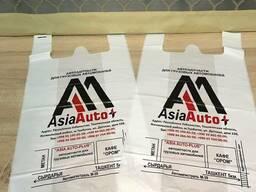 Майка пакеты с логотипом