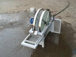 Механический сетчатый фильтр дискового типа для очистки воды