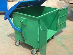 Металлические и пластиковые контейнеры