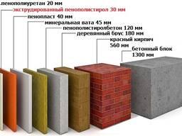 Минвата на основе базальта П-80 (50мм) 39 200 сум 1 кв. - фото 7