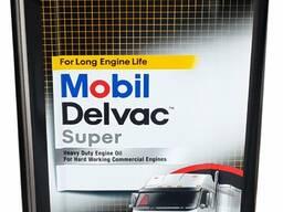 Mobil delvac Super 20W50, 18л Дизельное масло