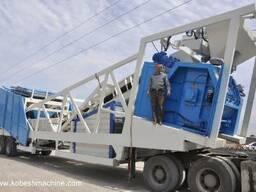 Мобильный бетонный завод от 60-180 м. куб/ час