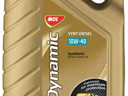 Моторное маслоMOL Dynamic Synt Diesel 10W/40