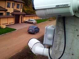 Монтаж систем видеонаблюдения HIKVISION