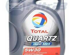 Моторное масло total quartz ineo mc3 5w-30 5l