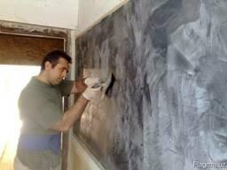 Наносим декоративную штукатурку на стены и потолки Эльф Деко