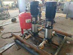 Насосная станция для поднятия общего давления воды