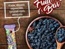 Натуральные батончики из орехов и сухофруктов