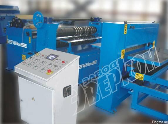 Оборудование для продольной поперечной резки рулонной стали