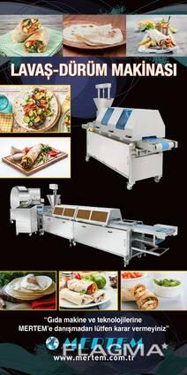 Оборудование для производства лаваша от Mertem
