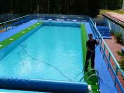 Обслуживания стационарных и общественных бассейнов