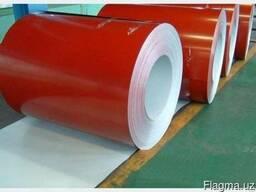Оцинкованная сталь с полимерным покрытием 0.33 и 0.40мм