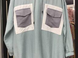 Одежда хиджаба Двойка материал