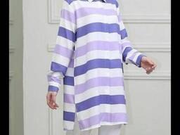 Одежда хиджаба Рубашка тоника