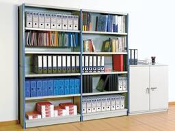 Офисный стеллаж для документов, архивный