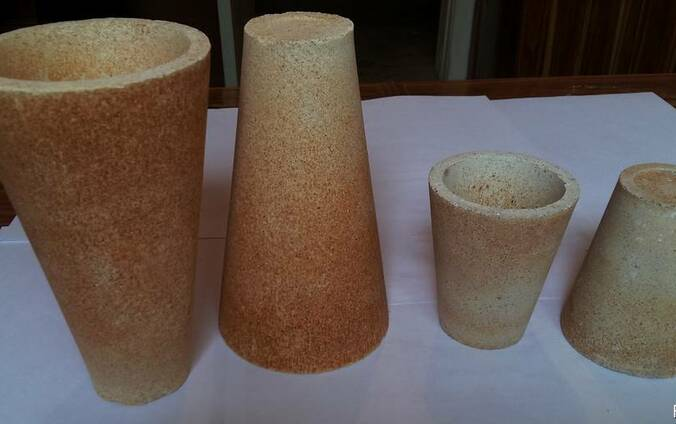 Огнеупорная посуда для анализа проб руды
