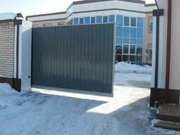 Откатные ворота для завода и дачи от 1100 $
