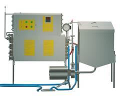 Пастеризатор на 500 л проточный УЗМ-0,5