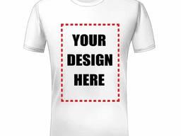 Печать на футболках, нанесение лого на майках, персонализированные футболки. ..