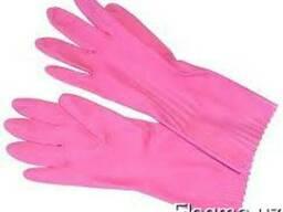 Перчатка резиновые