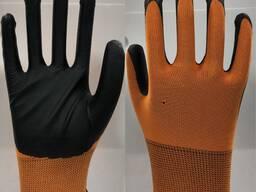 Перчатки латексные обливные