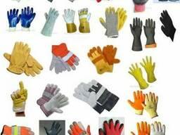 Перчатки разных типов