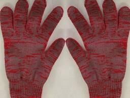Перчатки тройные плотные ХБ