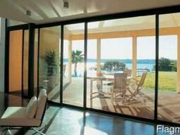 Пластиковые/алюминиевые: окна, двери, перегородки, витражи