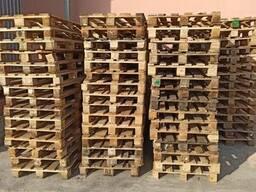 Поддоны (палет) деревянные раз. 1400х800, 1000х1200, в ассортименте