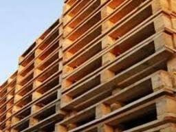 Поддоны (палет) деревянные раз