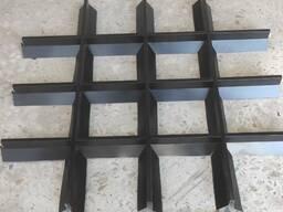Подвесной потолок грильято -Пирамидальный