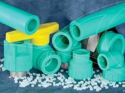 Полипропиленовые трубы для водоснабжения PN20 SDR6 - фото 2