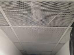 Потолки подвесные сетчатые металлические