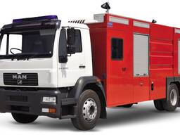 Пожарная автомашина MAN CLA 16. 220