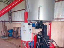 Пресс для изготовления топливных брикетов
