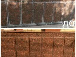 Профессиональная чистка, обработка фасада
