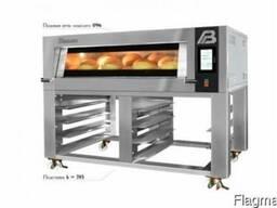 Профессиональная хлебопекарная подовая печь Пассат» 096