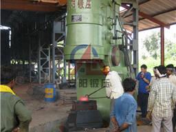 Производства стальных шаров паровоздушных молотов