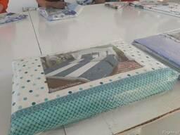 Производство комплекта постельного белья. 100% хлопок