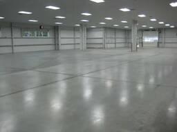 Промышленные бетонные полы топпинг